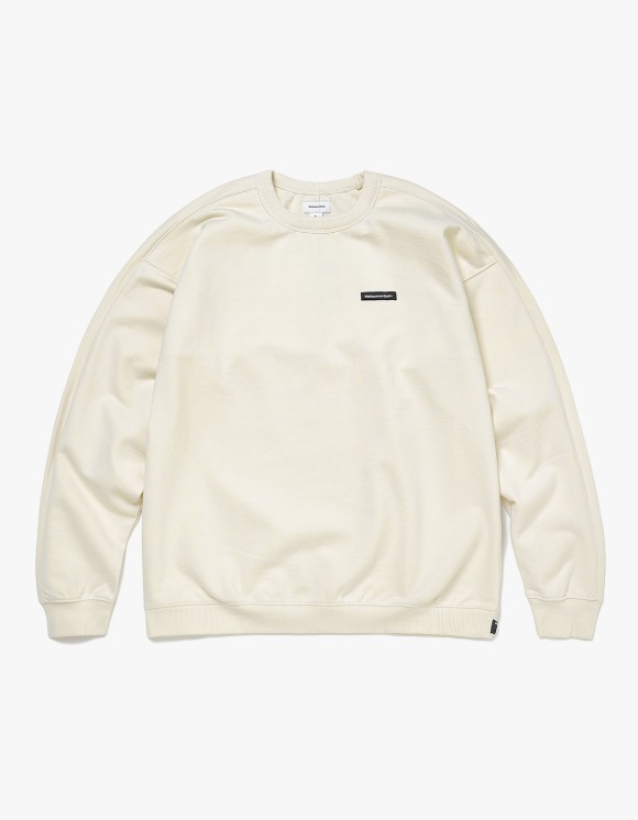 thisisneverthat S-Crewneck Sweat - Ivory | HEIGHTS. | 하이츠 온라인 스토어