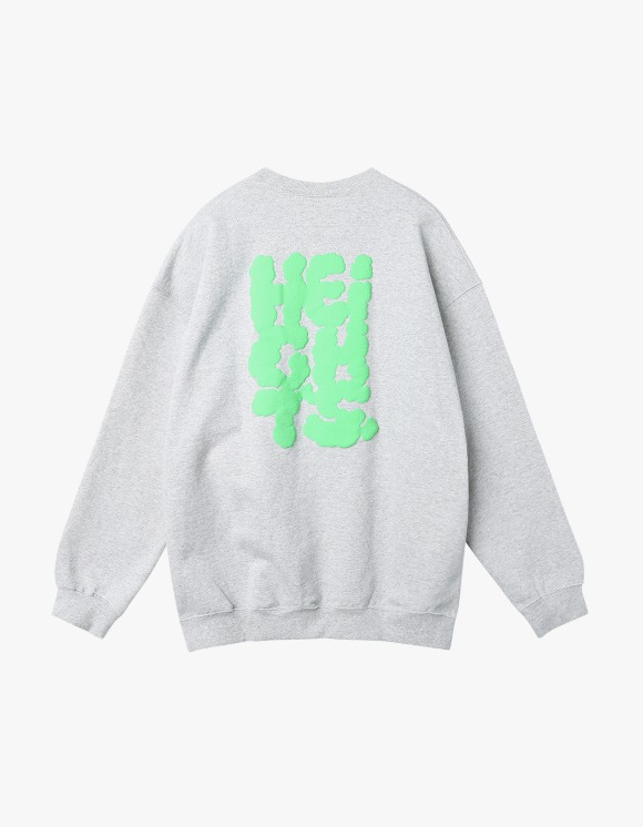 yeseyesee Y.E.S Heights Sweatshirts - Grey | HEIGHTS. | 하이츠 온라인 스토어