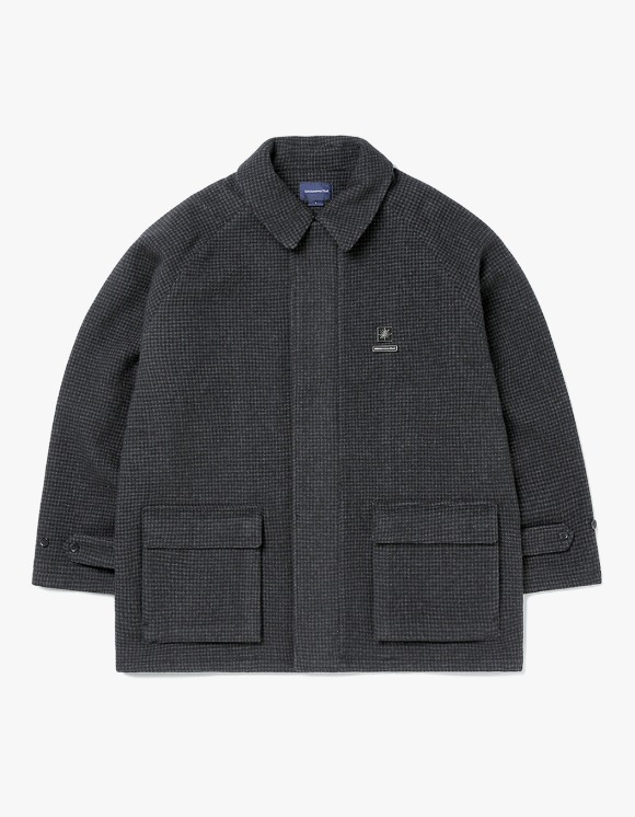 thisisneverthat Wool ZIP Coat - Check | HEIGHTS. | 하이츠 온라인 스토어