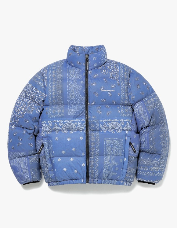 thisisneverthat PERTEX® T Down Jacket - Bandana Blue | HEIGHTS. | 하이츠 온라인 스토어