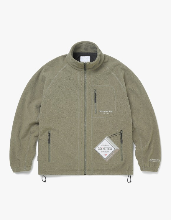thisisneverthat GORE-TEX® INFINIUM™ Fleece Jacket - Sage | HEIGHTS. | 하이츠 온라인 스토어