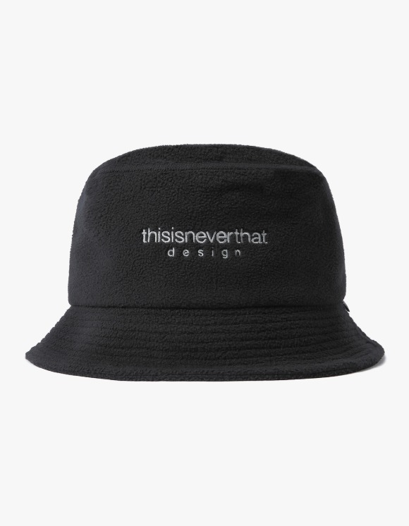 thisisneverthat GORE-TEX® INFINIUM™ Fleece Bucket Hat - Black | HEIGHTS. | 하이츠 온라인 스토어