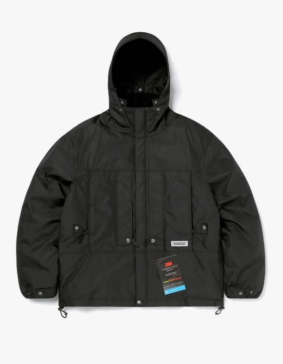 thisisneverthat FL Parka - Black | HEIGHTS. | 하이츠 온라인 스토어