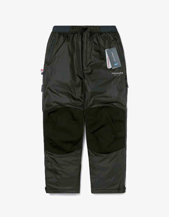 thisisneverthat Insulated PCU Pant - Black | HEIGHTS. | 하이츠 온라인 스토어