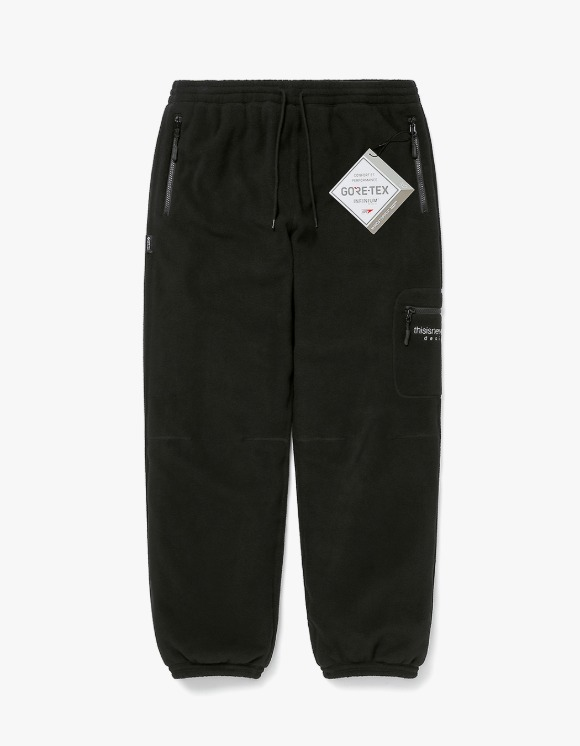 thisisneverthat GORE-TEX® INFINIUM™ Fleece Pant - Black | HEIGHTS. | 하이츠 온라인 스토어