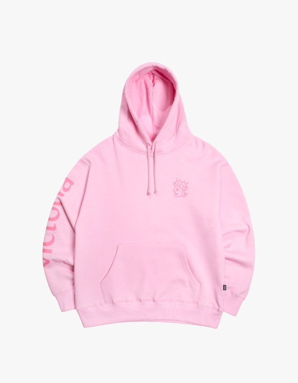 Victoria Hong Kong Queens Head Crewneck - Pink | HEIGHTS. | 하이츠 온라인 스토어