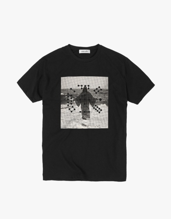 P O R T R A I T  White Jesus S/S Tee - Black | HEIGHTS. | 하이츠 온라인 스토어