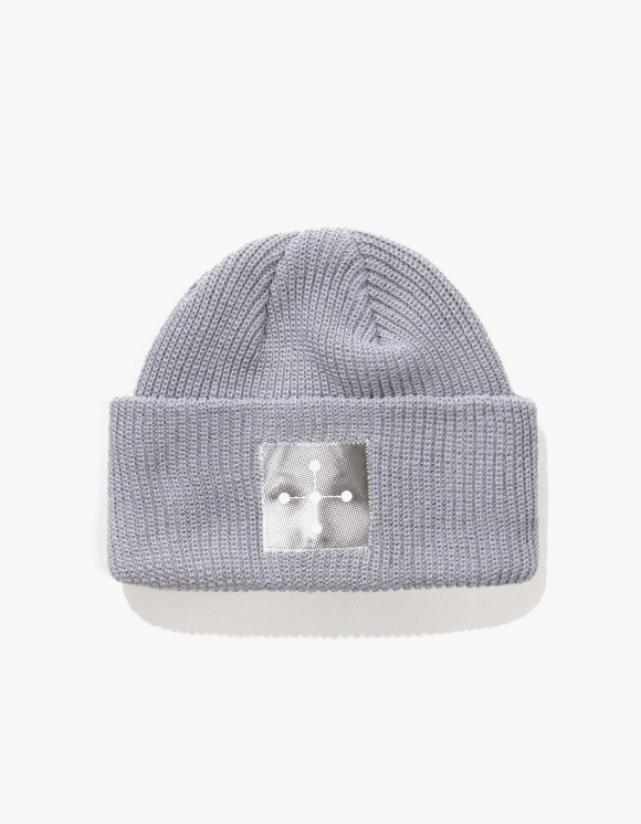 P O R T R A I T  KCJ Cotton Beanie - Grey | HEIGHTS. | 하이츠 온라인 스토어