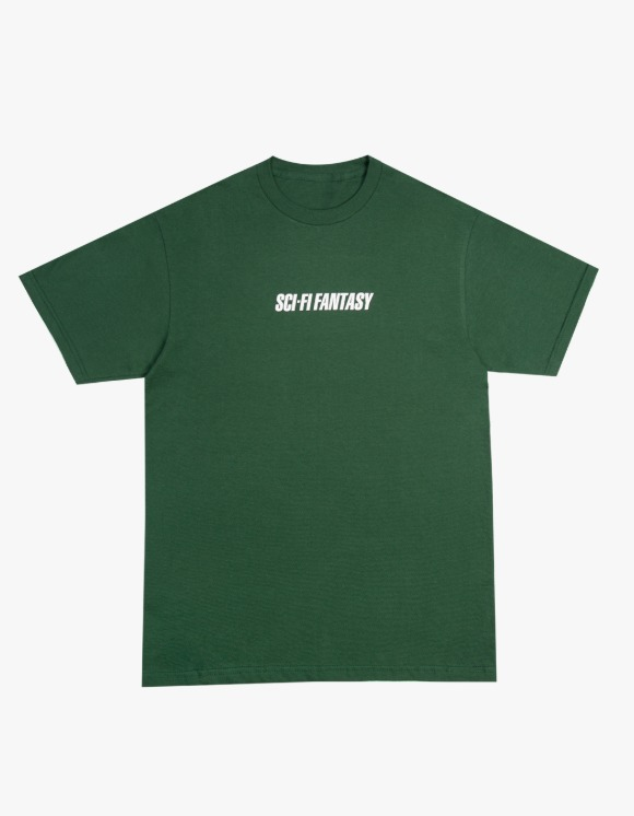Sci-Fi Fantasy Fast Tee - Sport Dark Green | HEIGHTS. | 하이츠 온라인 스토어