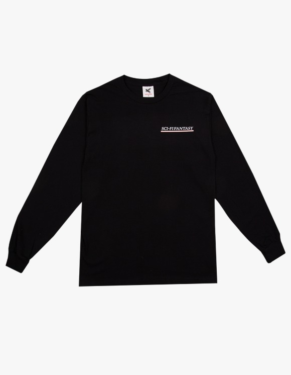 Sci-Fi Fantasy Industrial L/S Tee - Black | HEIGHTS. | 하이츠 온라인 스토어