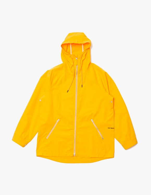 Pop Trading Company Pop Ams Hooded Jacket - Burnt Yellow | HEIGHTS. | 하이츠 온라인 스토어