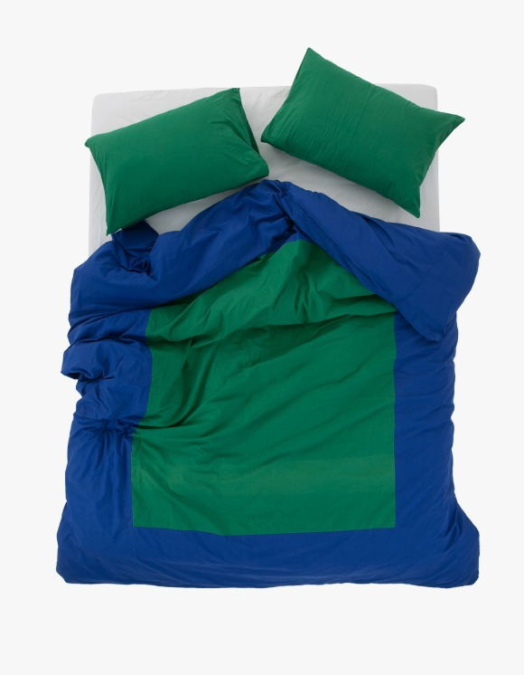 GATA Island Duvet Cover - Blue/Green | HEIGHTS. | 하이츠 온라인 스토어