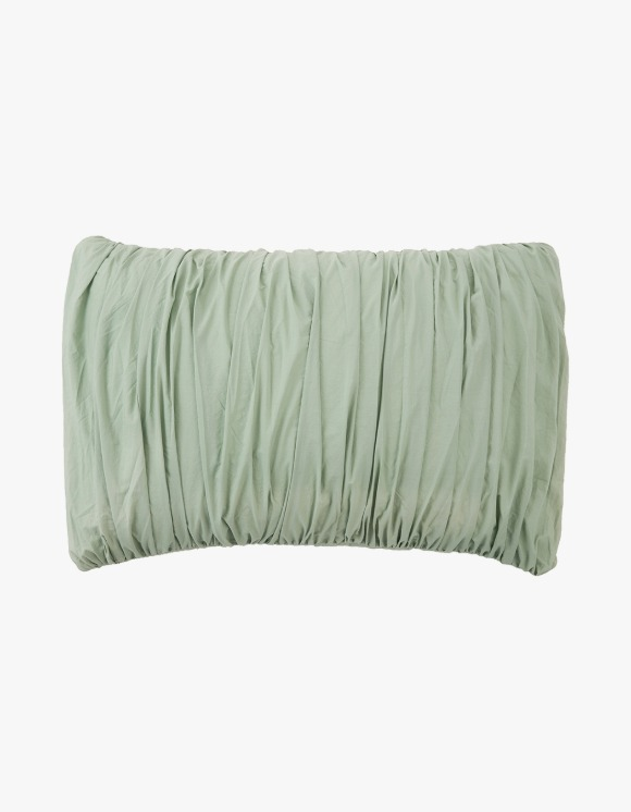 GATA Big Waves Pillow Case - Mint | HEIGHTS. | 하이츠 온라인 스토어