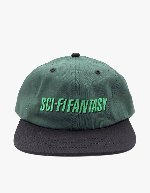 Sci-Fi Fantasy Fast Logo Hat - Forest/Black | HEIGHTS. | 하이츠 온라인 스토어
