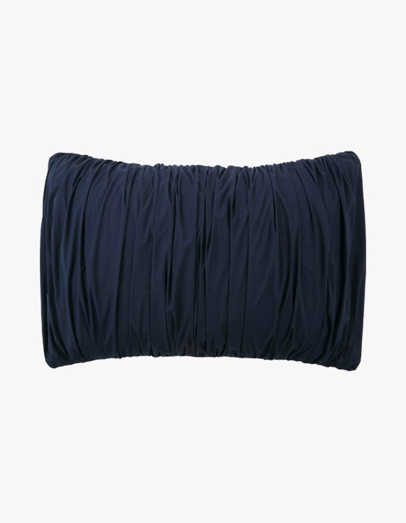 GATA Big Waves Pillow Case - Navy | HEIGHTS. | 하이츠 온라인 스토어