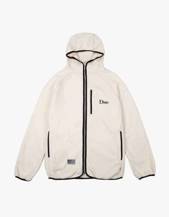 Dime Polar Fleece Hooded Jacket - Cream | HEIGHTS. | 하이츠 온라인 스토어