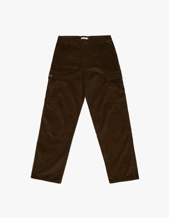Pop Trading Company Pop Corduroy Cargo Pants - Moss Green | HEIGHTS. | 하이츠 온라인 스토어