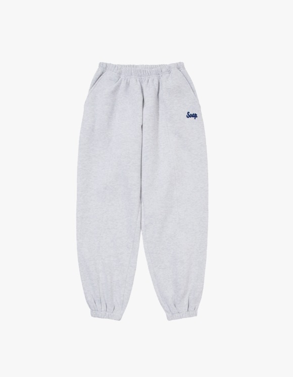 Soap Blue Light Sweatpants – Light Grey | HEIGHTS. | 하이츠 온라인 스토어