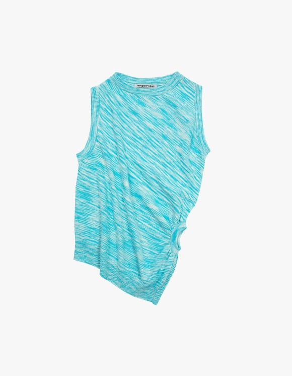 TheOpen Product Color Blended Twisted Knit Vest - Sky Blue | HEIGHTS. | 하이츠 온라인 스토어