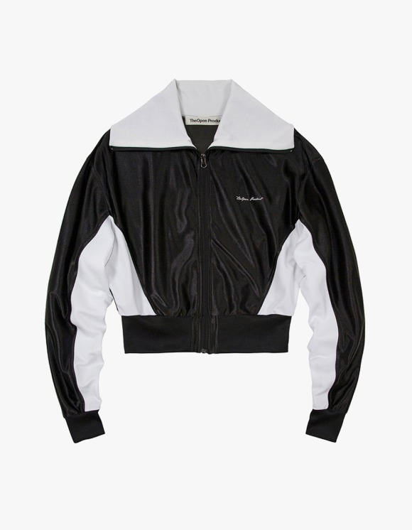 TheOpen Product Glossy Track Jacket - Black | HEIGHTS. | 하이츠 온라인 스토어