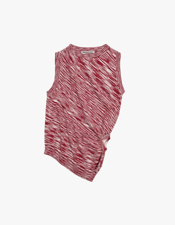 TheOpen Product Color Blended Twisted Knit Vest - Red | HEIGHTS. | 하이츠 온라인 스토어