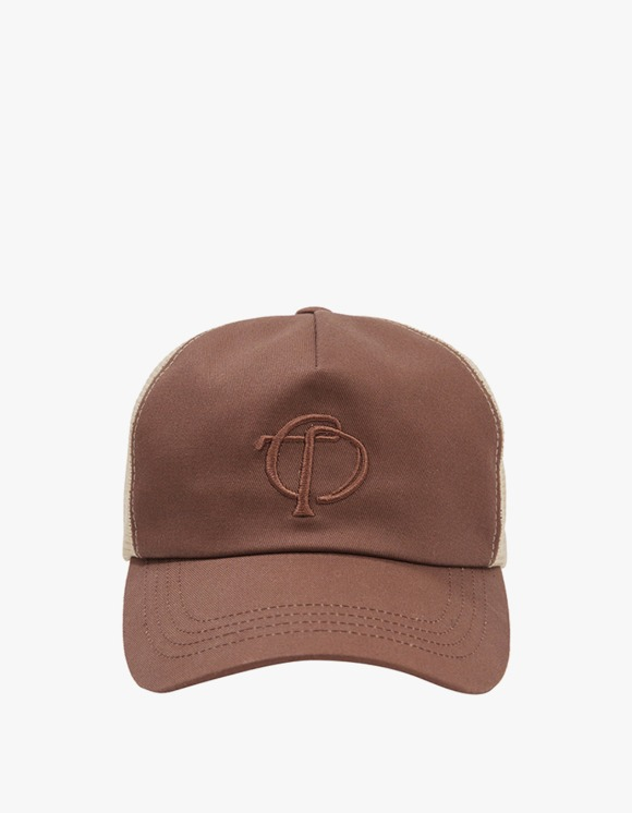 TheOpen Product Symbol Mesh Cap - Brown | HEIGHTS. | 하이츠 온라인 스토어