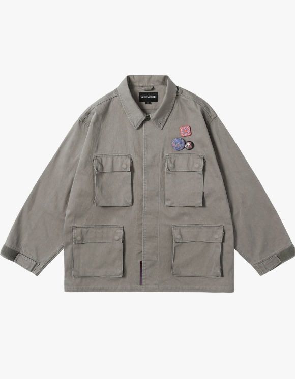 yeseyesee Y.E.S BDU Jacket - Grey | HEIGHTS. | 하이츠 온라인 스토어