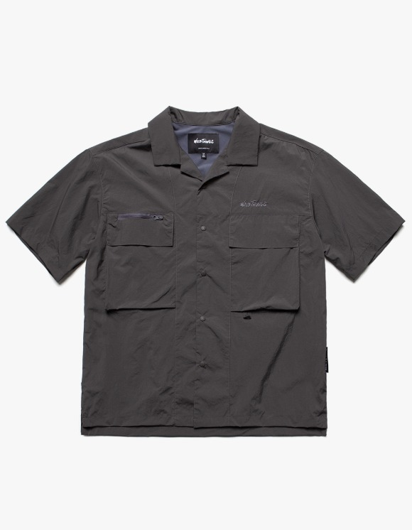 Wild Things Camping Half Shirts - Charcoal | HEIGHTS. | 하이츠 온라인 스토어