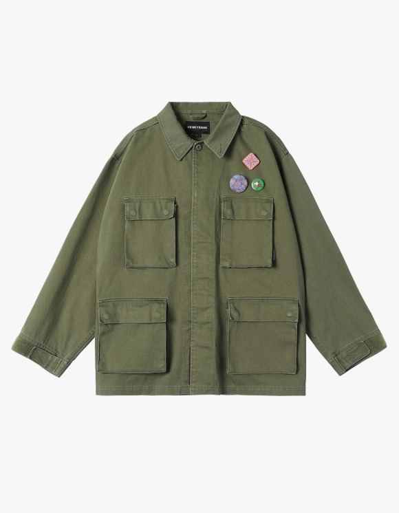 yeseyesee Y.E.S BDU Jacket - Olive | HEIGHTS. | 하이츠 온라인 스토어