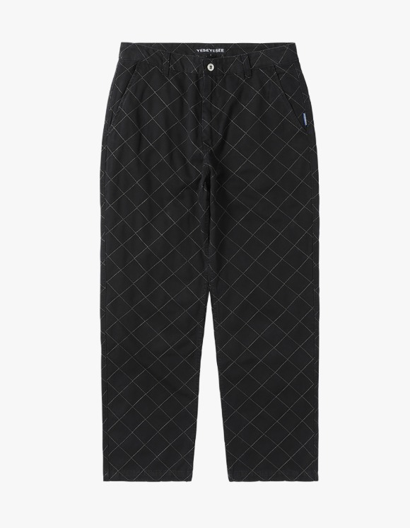 yeseyesee Net Twill Pants - Black | HEIGHTS. | 하이츠 온라인 스토어