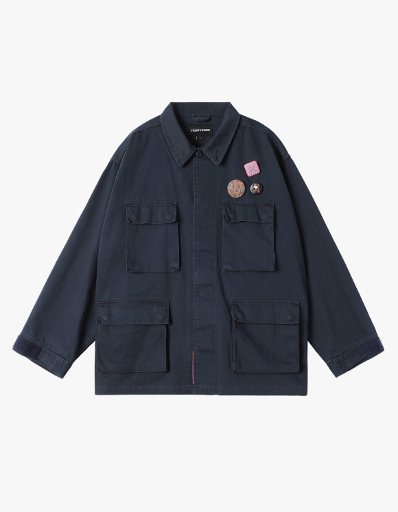 yeseyesee Y.E.S BDU Jacket - Navy | HEIGHTS. | 하이츠 온라인 스토어