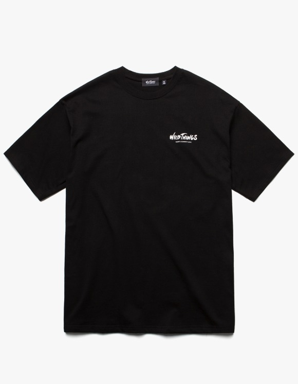 Wild Things WT Logo S/S Tee - Black | HEIGHTS. | 하이츠 온라인 스토어