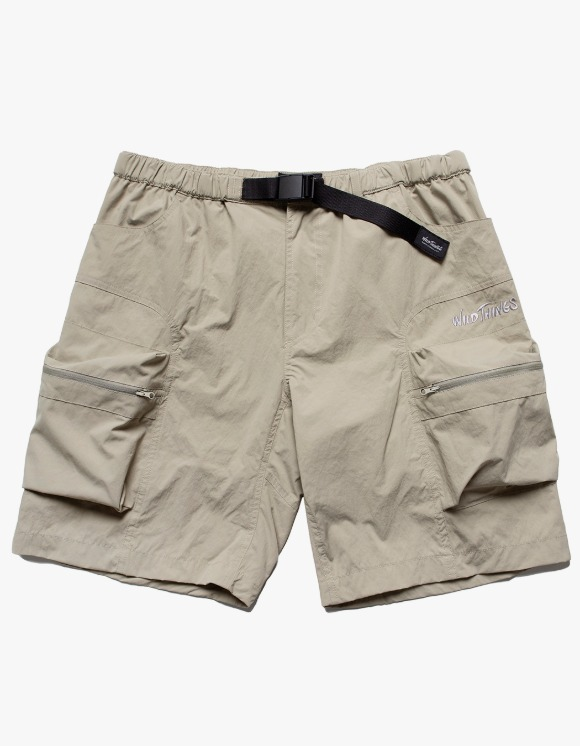 Wild Things Camp Cargo Shorts - Beige | HEIGHTS. | 하이츠 온라인 스토어