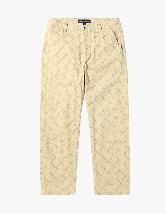 yeseyesee Net Twill Pants - Beige | HEIGHTS. | 하이츠 온라인 스토어