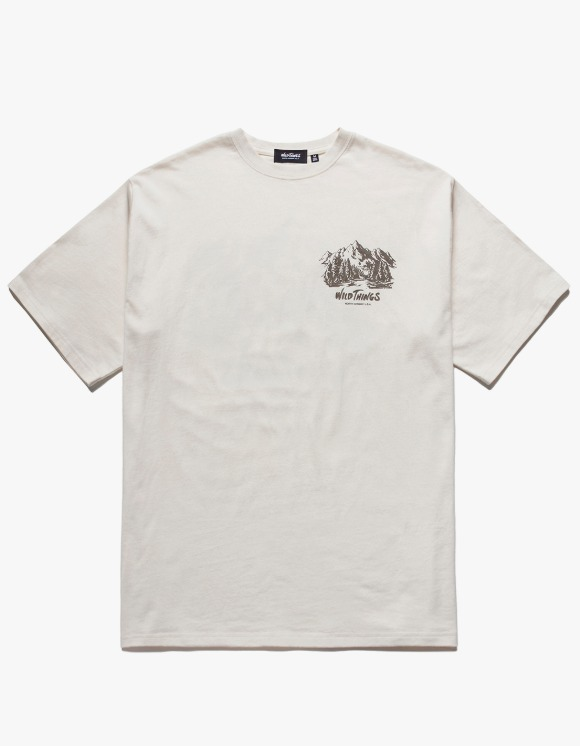 Wild Things Lake S/S Tee - Beige | HEIGHTS. | 하이츠 온라인 스토어