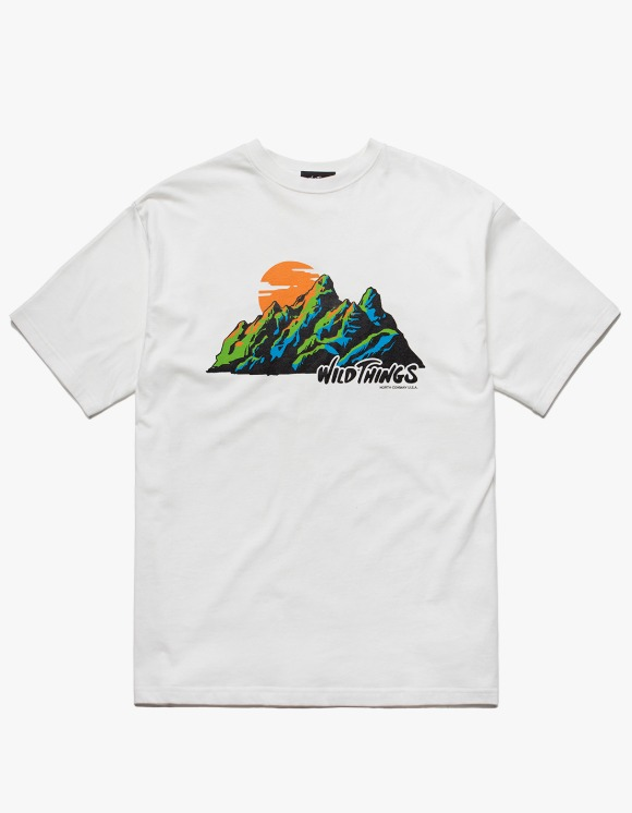 Wild Things Mountain Day S/S Tee - White | HEIGHTS. | 하이츠 온라인 스토어