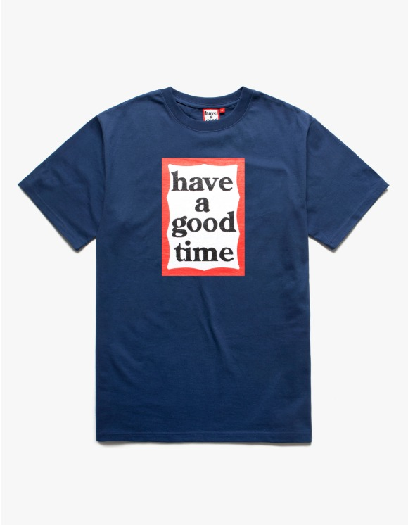 have a good time Frame S/S Tee - Ink Blue | HEIGHTS. | 하이츠 온라인 스토어