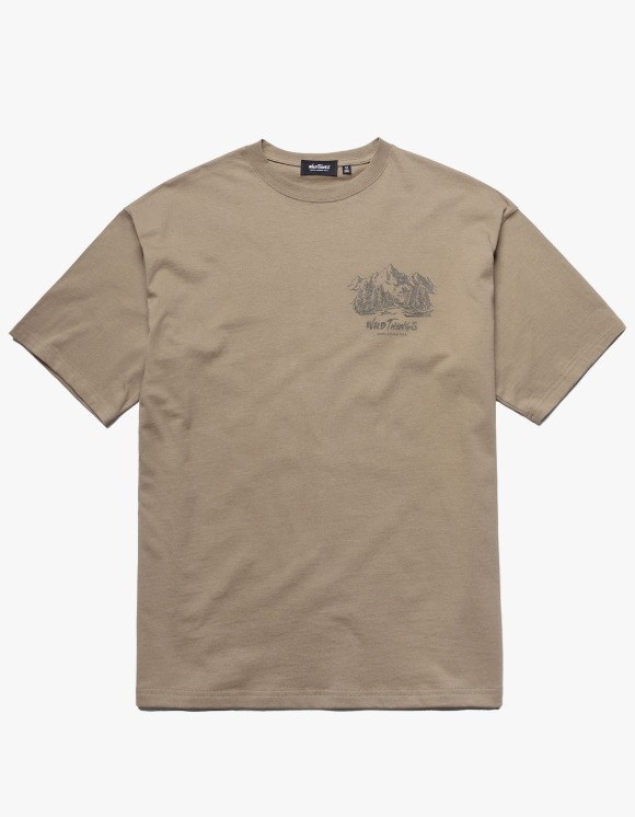 Wild Things Lake S/S Tee - Tan | HEIGHTS. | 하이츠 온라인 스토어