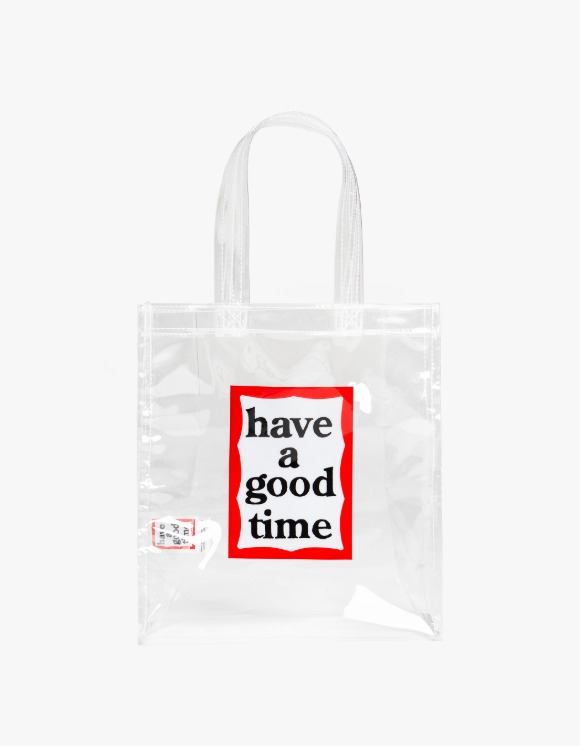 have a good time PVC Frame Mini Tote - Clear | HEIGHTS. | 하이츠 온라인 스토어