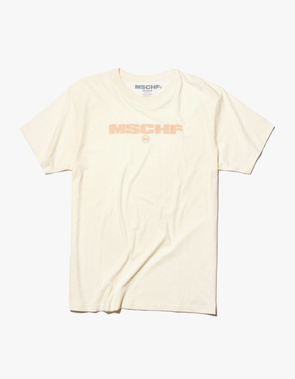 MISCHIEF Logo Semi Sheer Cotton S/S Tee - Ivory | HEIGHTS. | 하이츠 온라인 스토어