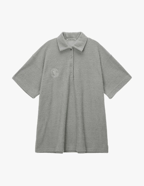 TheOpen Product Terry Collared S/S Tee - Gray | HEIGHTS. | 하이츠 온라인 스토어